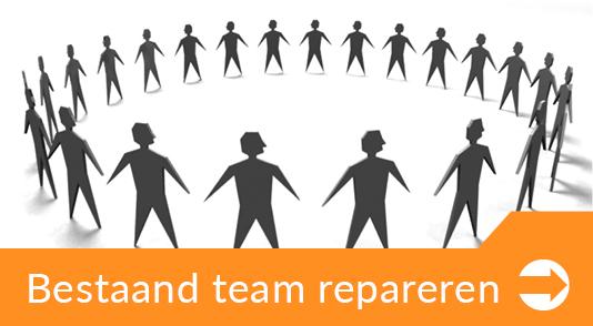 Bestaand team repareren De Werkloods